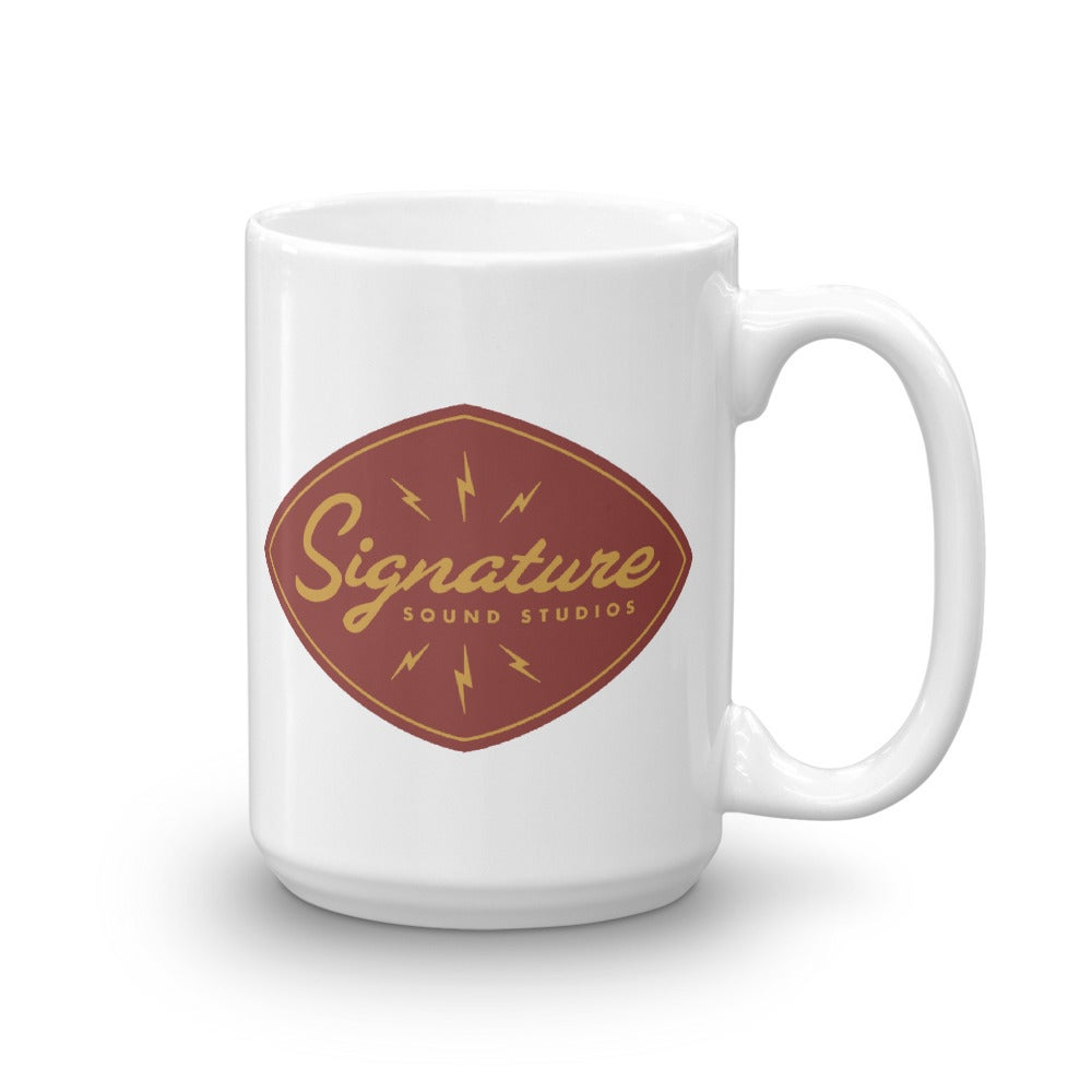 Image of Signature Sound Coffee Mug (Red)