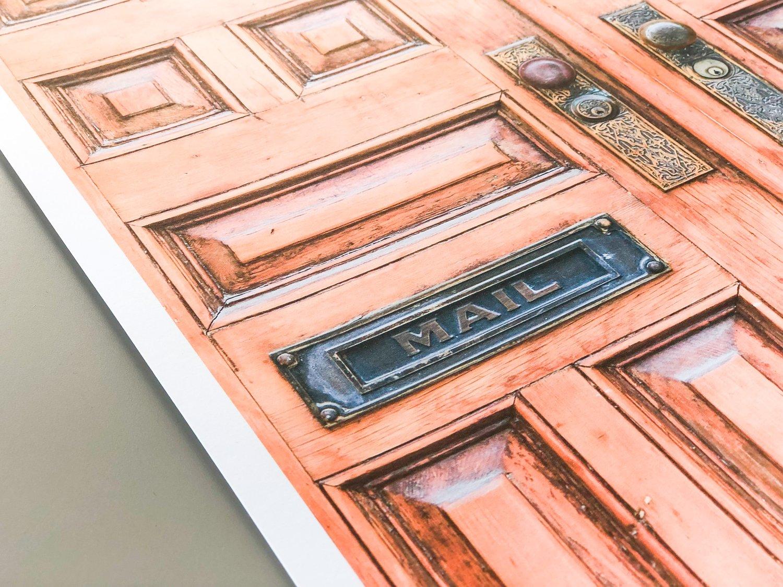 Image of Door with Mailbox