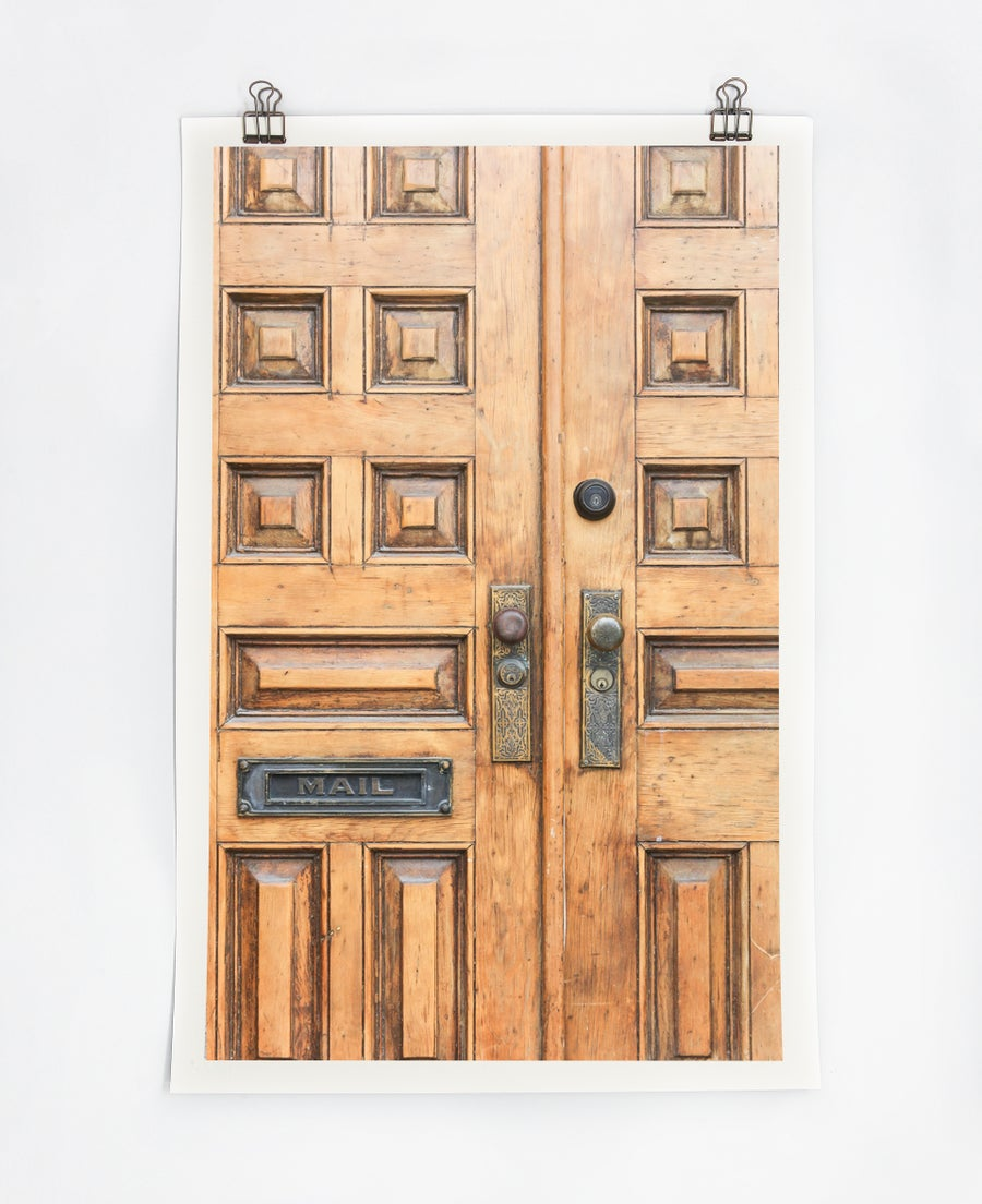 Image of Door with Mailbox