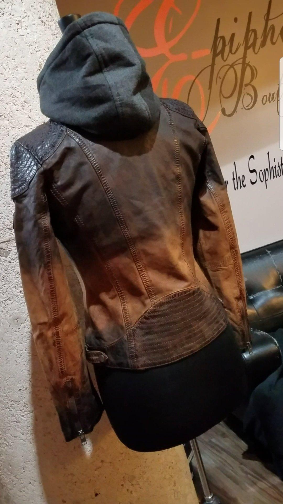 Image of The Casha Lamb Leather Jacket-**Regular & Plus Curvy**