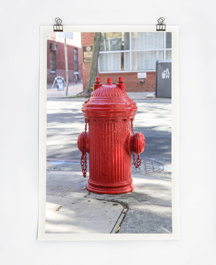 Image of Red Hydrant