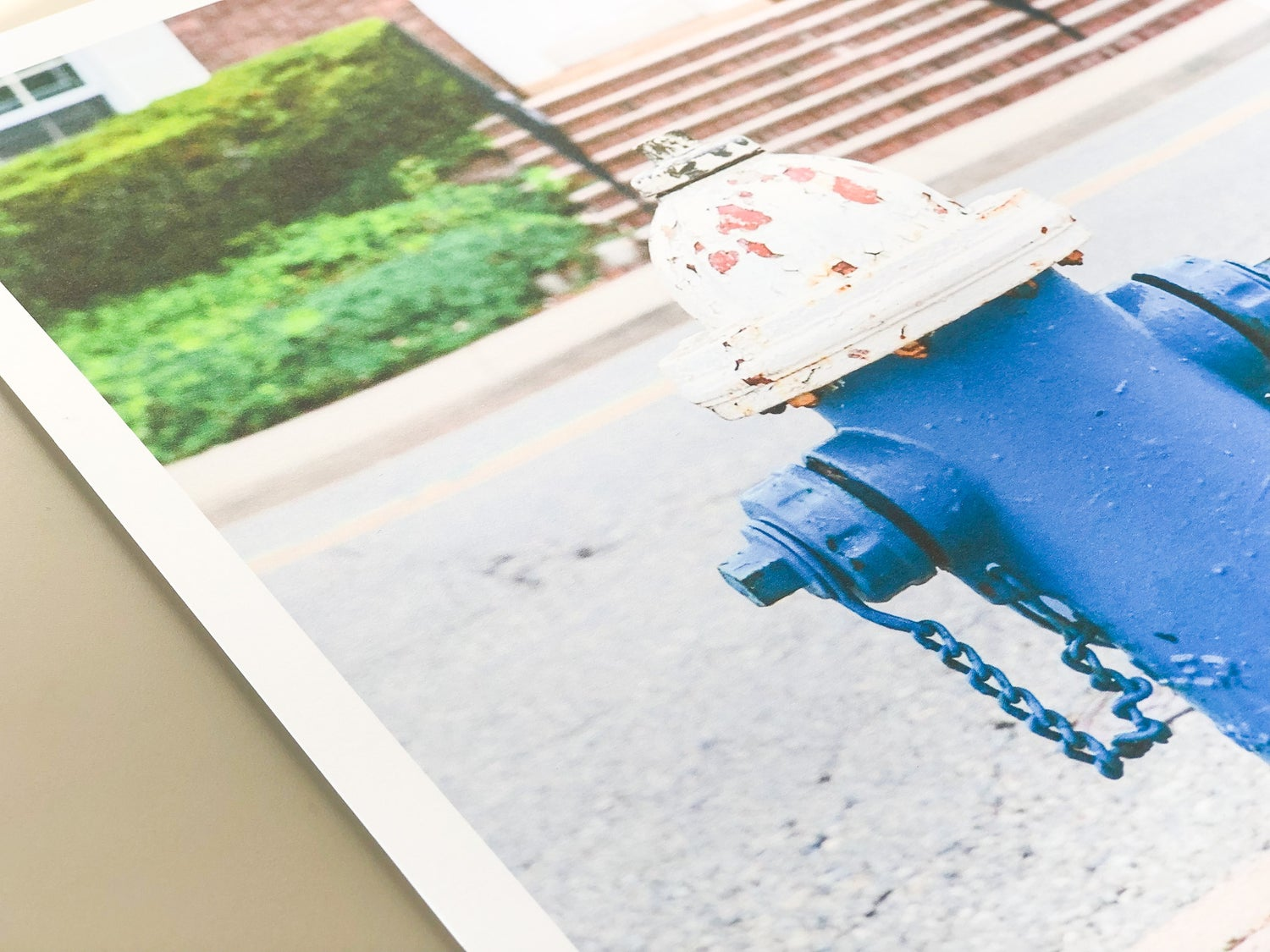 Image of Blue Hydrant