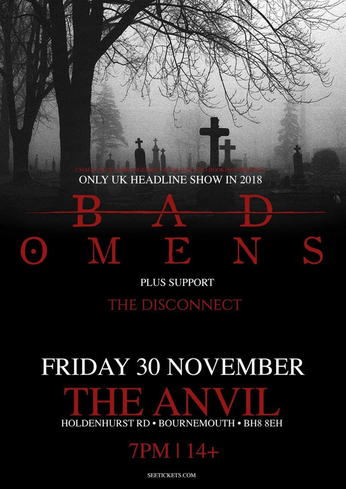 Image of The Anvil, Bournemouth w/ Bad Omens