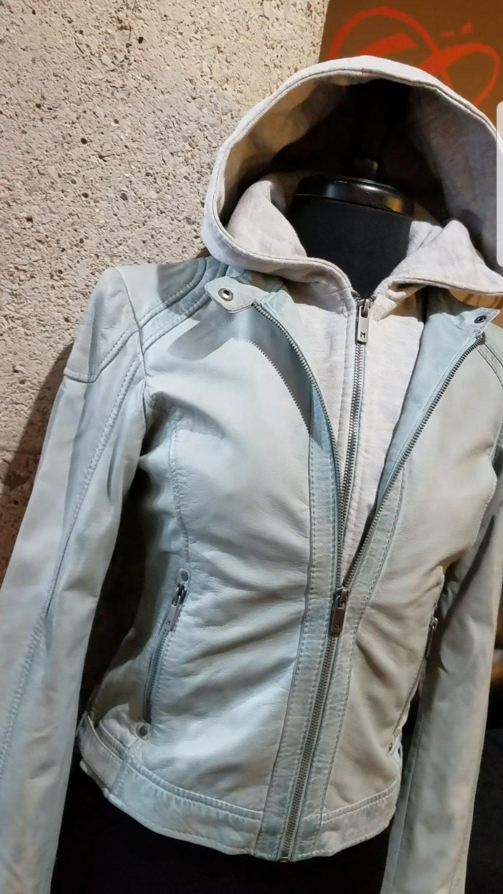 Image of The Angel Lamb Leather Jacket-**Regular & Plus/Curvy**