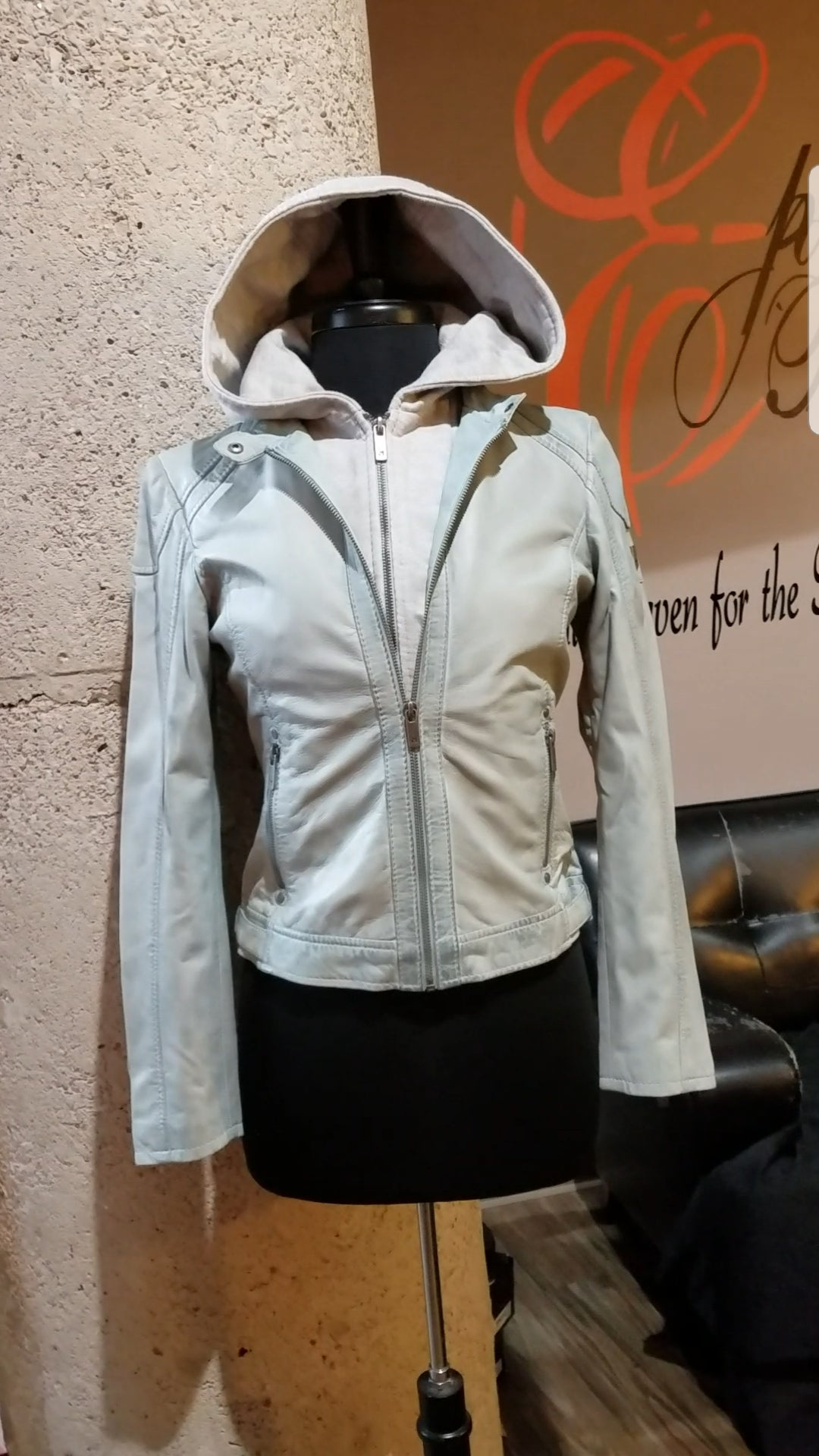 Image of The Angel Lamb Leather Jacket-**Regular & Plus/Curvy**