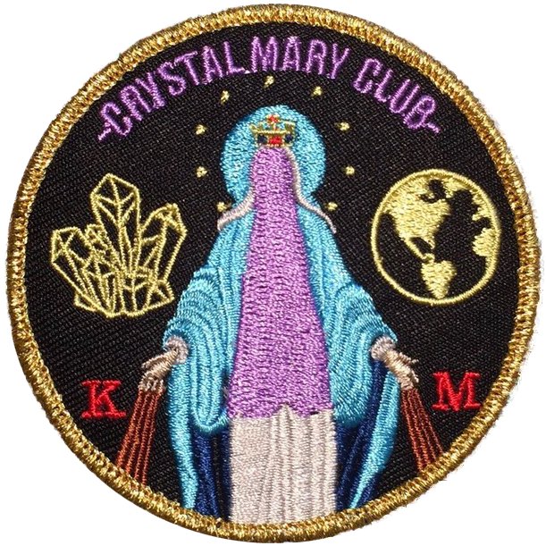 Image of Crystal Mary Club Patch
