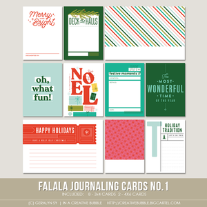 Image of Falala Journaling Cards No.1 (Digital)