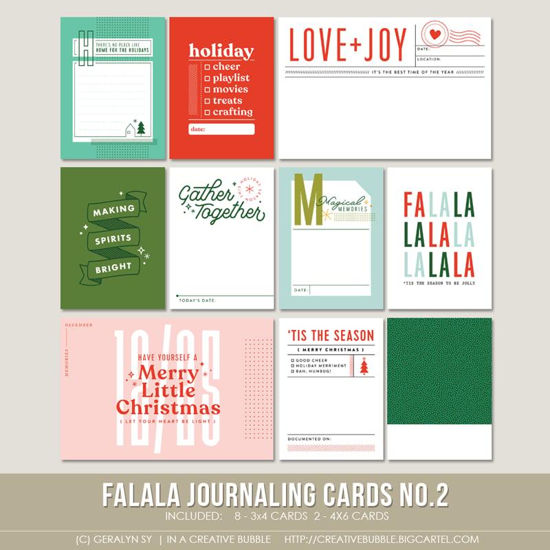 Image of Falala Journaling Cards No.2 (Digital)