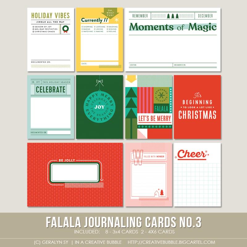 Image of Falala Journaling Cards No.3 (Digital)