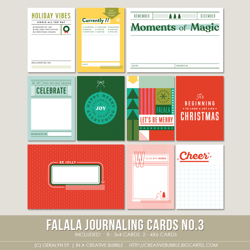 Image of Falala Journaling Cards No.3 (Digital)