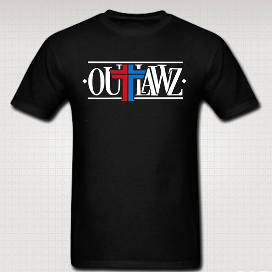 Image of Outlawz Logo Tee