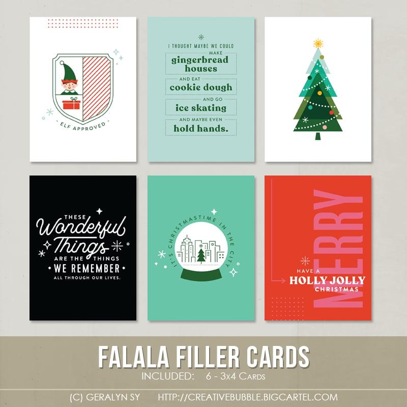 Image of Falala Filler Cards (Digital)