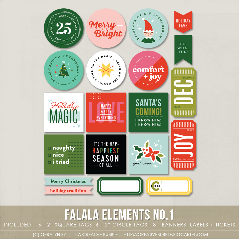 Image of Falala Elements No.1 (Digital)