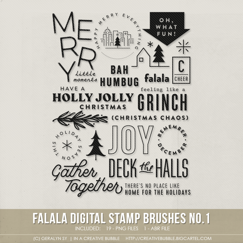 Image of Falala Stamp Brushes No.1 (Digital)