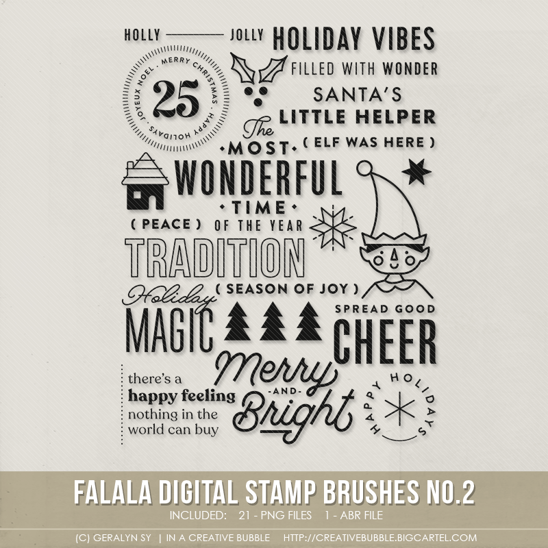 Image of Falala Stamp Brushes No.2 (Digital)