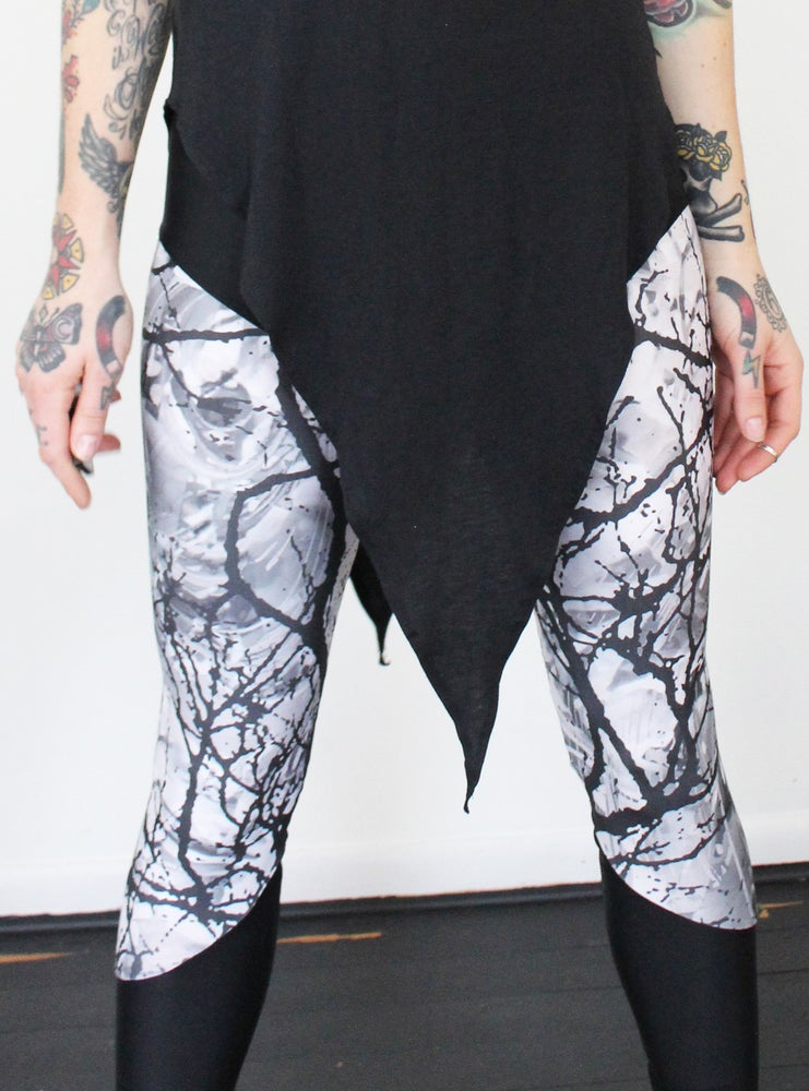 Image of Abstract Forest Leggings