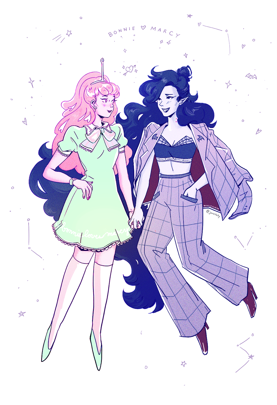 Image of Bonnie + Marcy Print