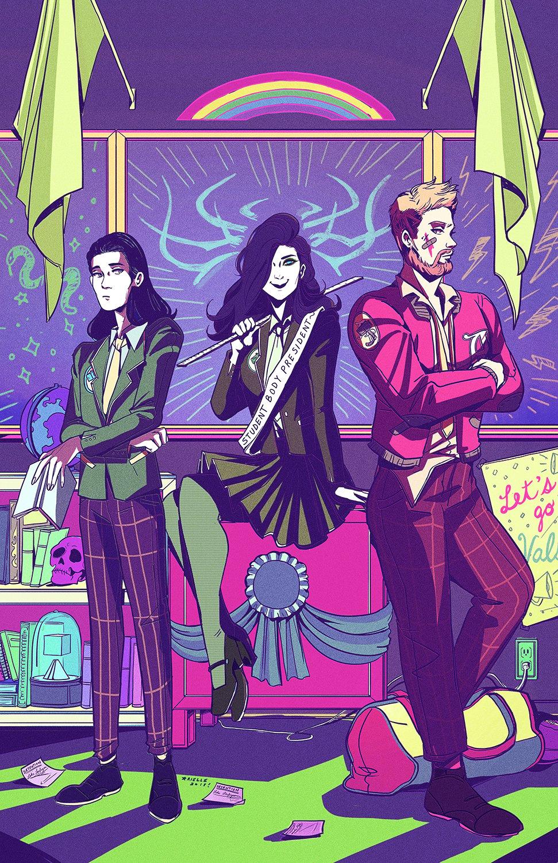 Image of Asgard Prep Print