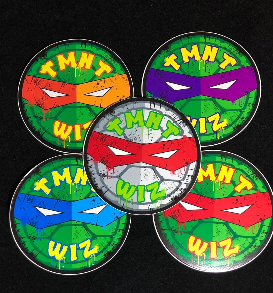 Image of TMNT_Wiz Logo Stickers