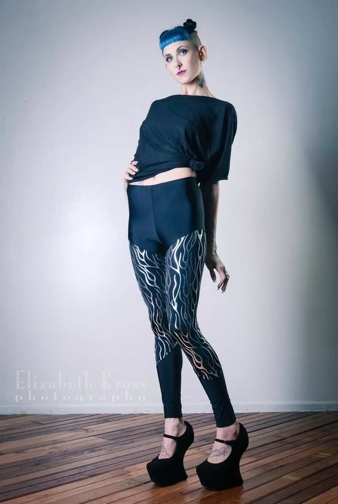 Image of Silver Vein Leggings