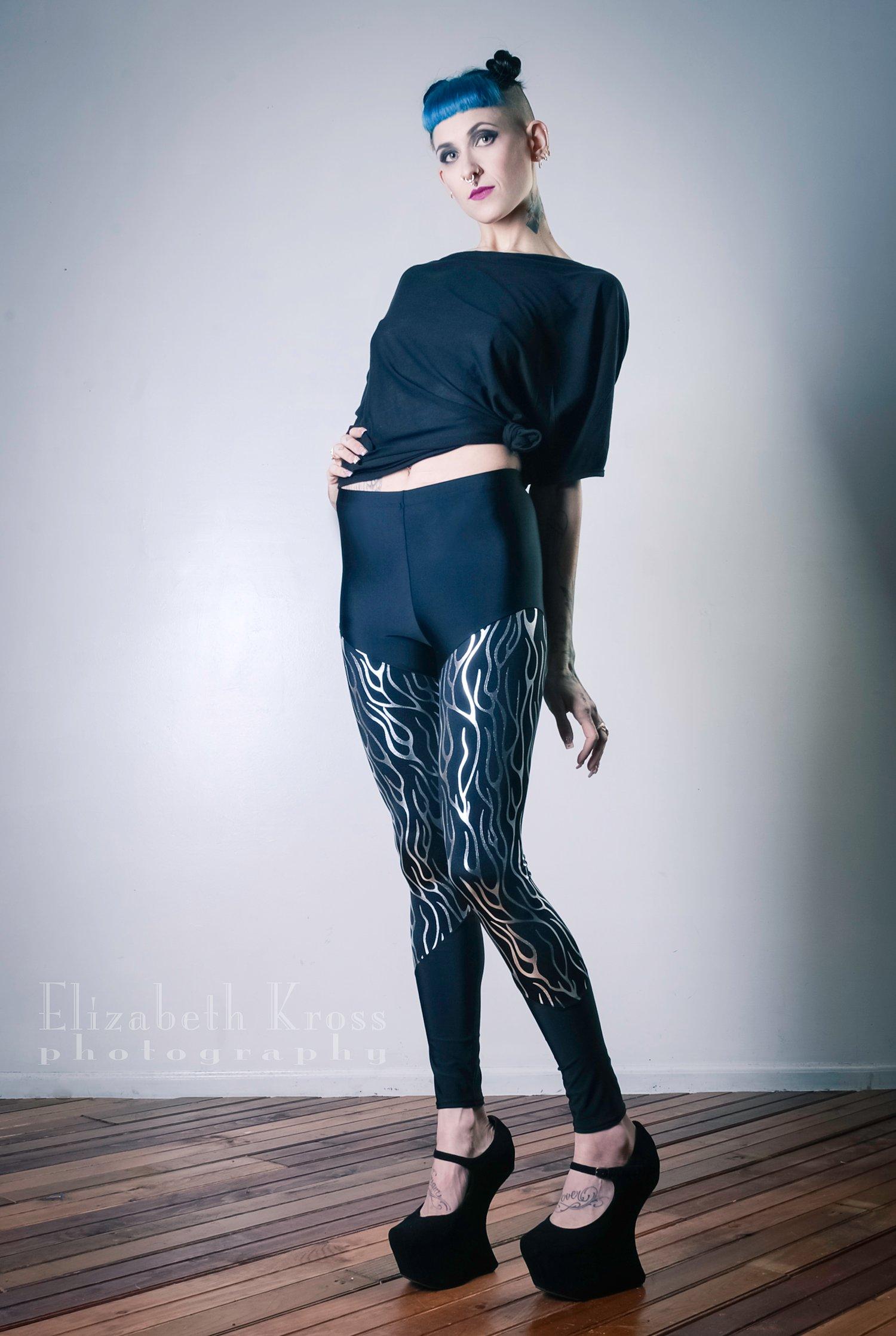Image of Silver Vein Leggings