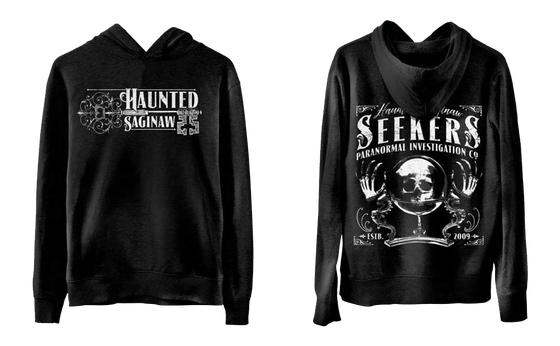 Image of Haunted Saginaw Vintage Hoodie (Ships by 10/28/18)