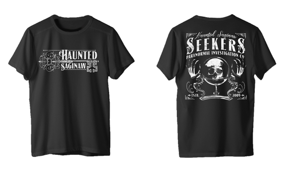 Image of Haunted Saginaw Vintage T-Shirt (ships by 10/28/18)