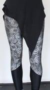 Gray Roses Leggings