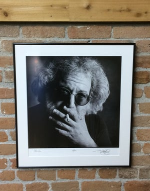 Image of Jerry Garcia (Mill Valley, CA, 1993) :: Limited Edition Custom Framed Fine Art Print