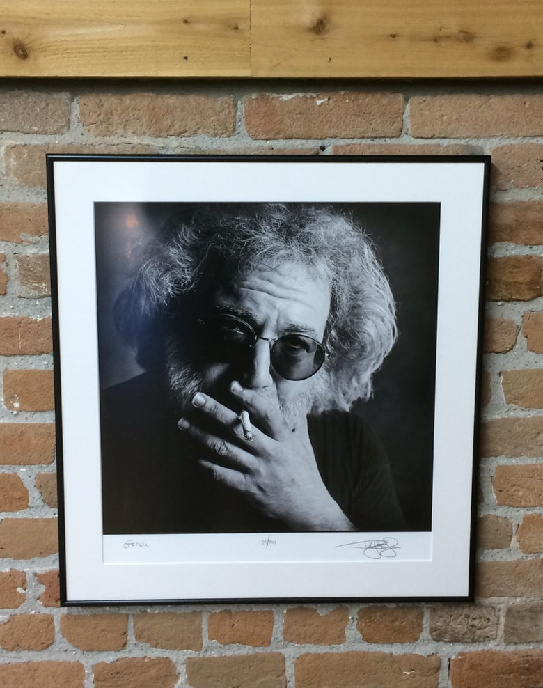 Image of Jerry Garcia (Mill Valley, CA, 1993) :: Limited Edition Framed Fine Art Print