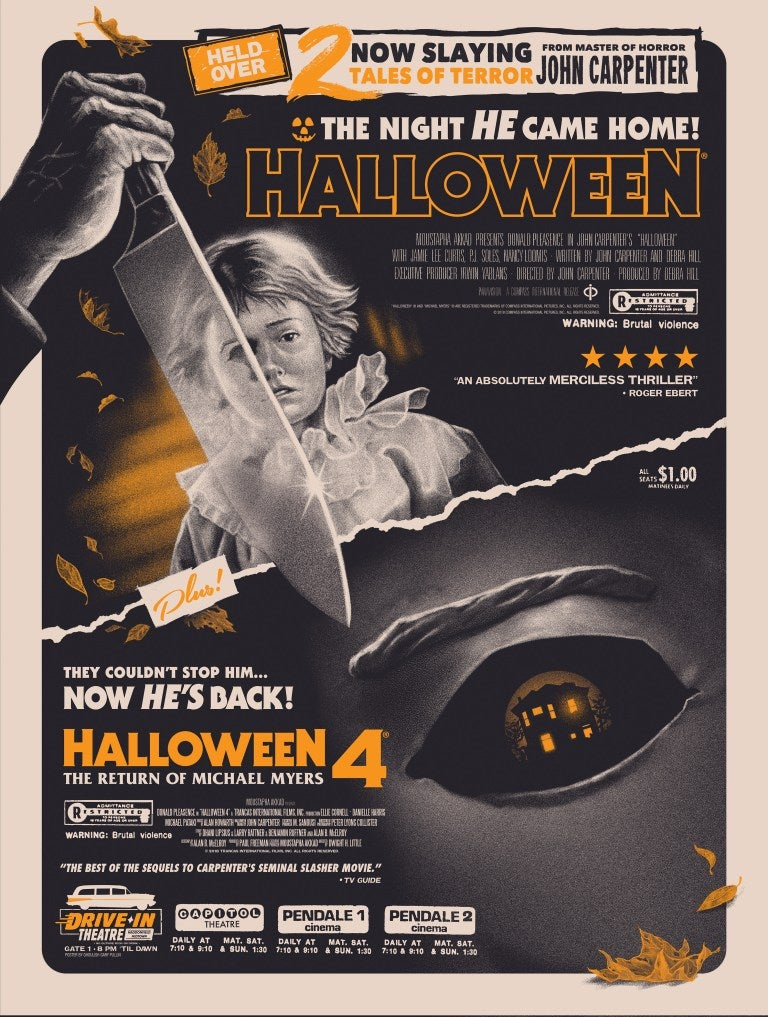 Image of Halloween / Halloween 4 Double Bill