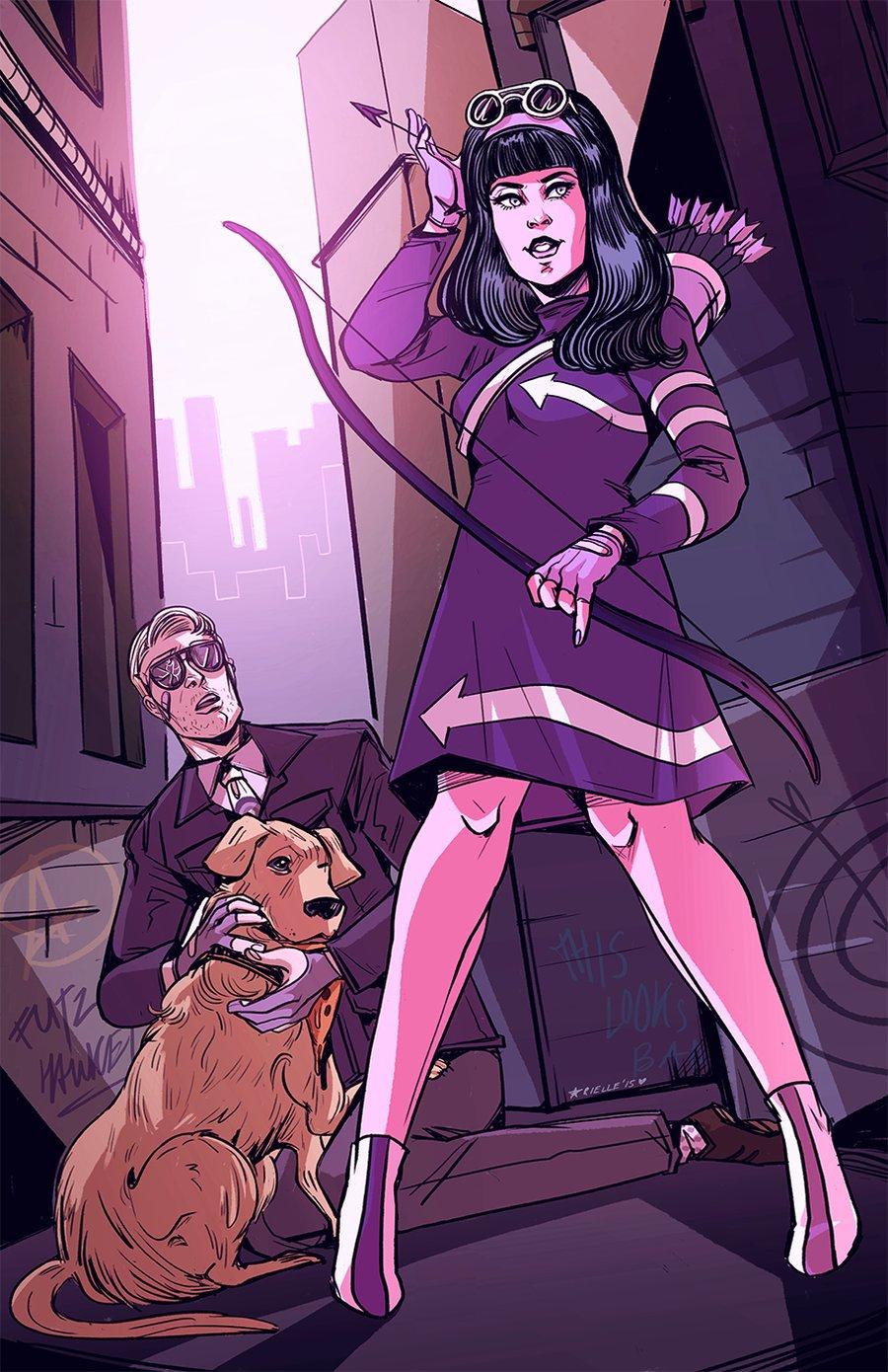 Image of Mod Hawkeyes Print