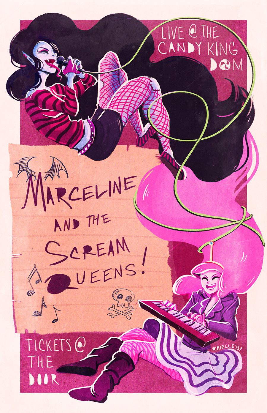 Image of Marceline and the Scream Queens Print