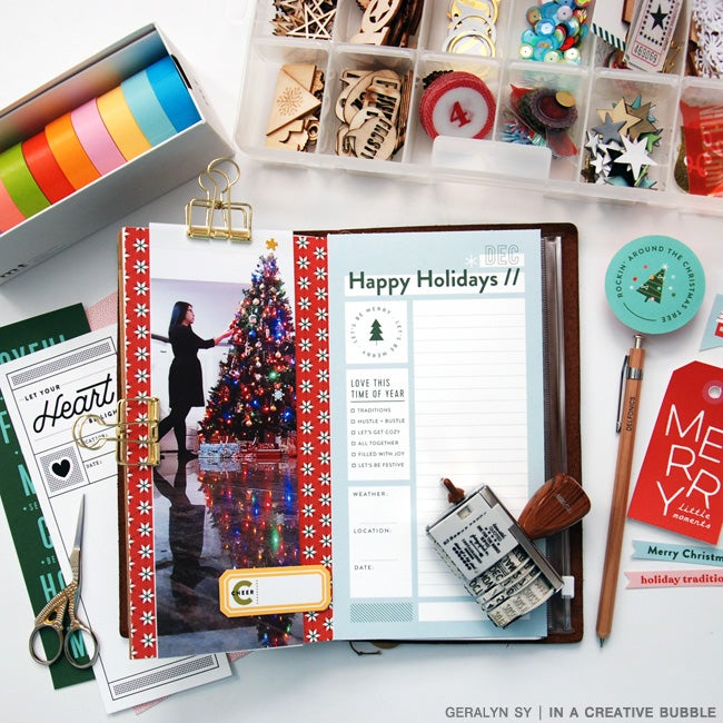 Image of Merry Moments Traveler's Notebook Papers (Digital)