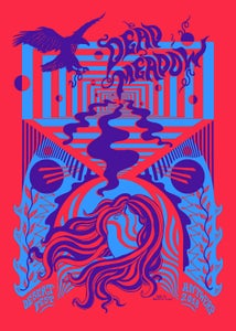 Image of DEAD MEADOW (Desertfest Antwerp 2018) screenprinted poster