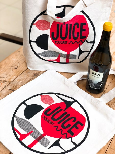 Image of Juice Podcast Tote bag