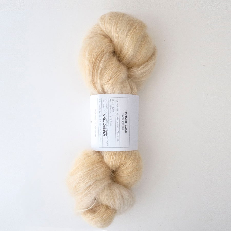Image of Cider Sweater - Mohair Lace