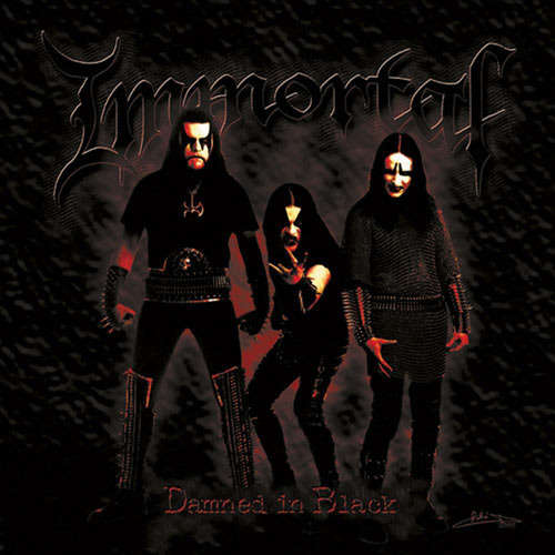 "Image of IMMORTAL ""damned in black"" LP"