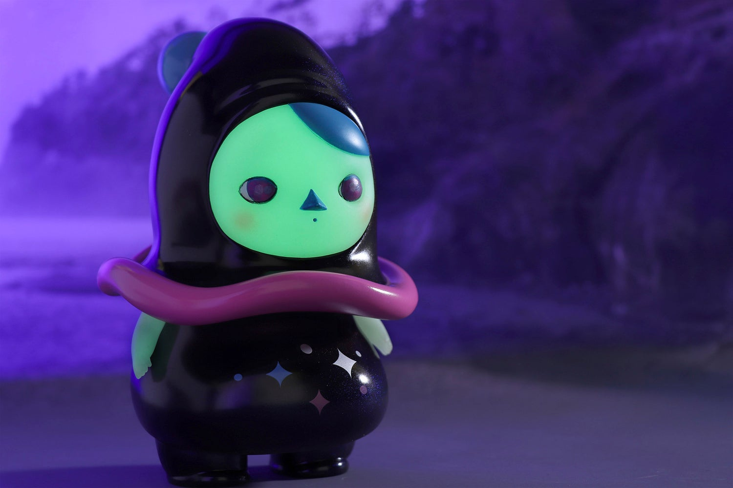 """Image of PUCKY """"HALLOWEEN WITCH""""  GID FAT FAIRY"""