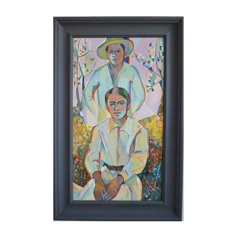 Image of 1970, Oil Painting, 'The Brothers', Christina Brooks
