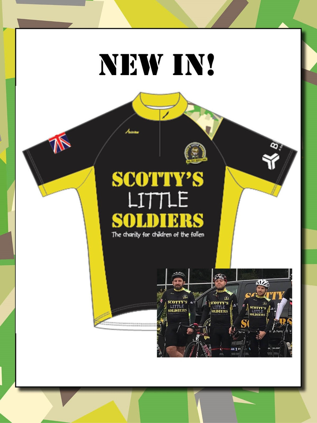 Image of Scotty's Cycling Shirt
