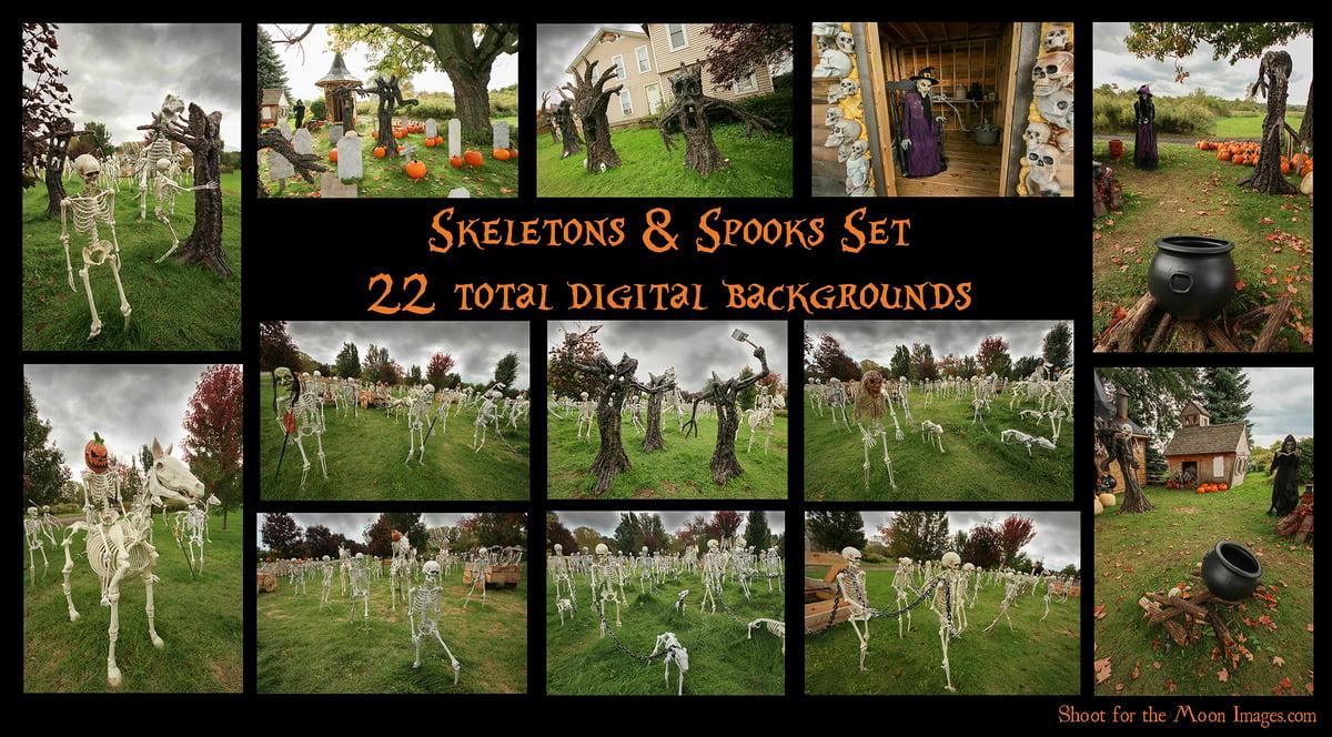 Image of Skeletons & Spooks Set