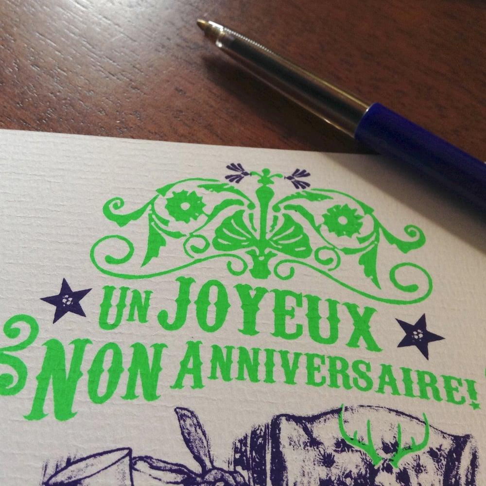 Image of Carte de non-anniversaire