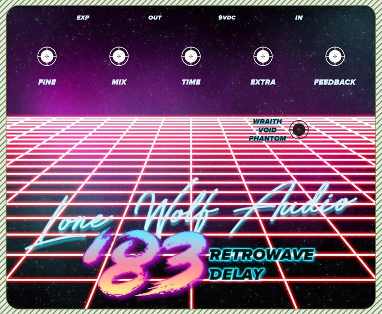 Image of 83' retrowave delay pre sale