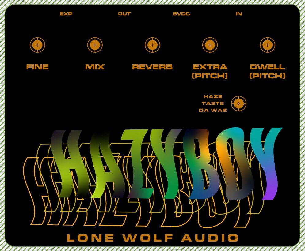 Image of Hazyboy pitch reverb pre sale limited to 10
