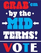 Image of Grab 'Em by The Midterms Giclee GOTV Posters - NEW!