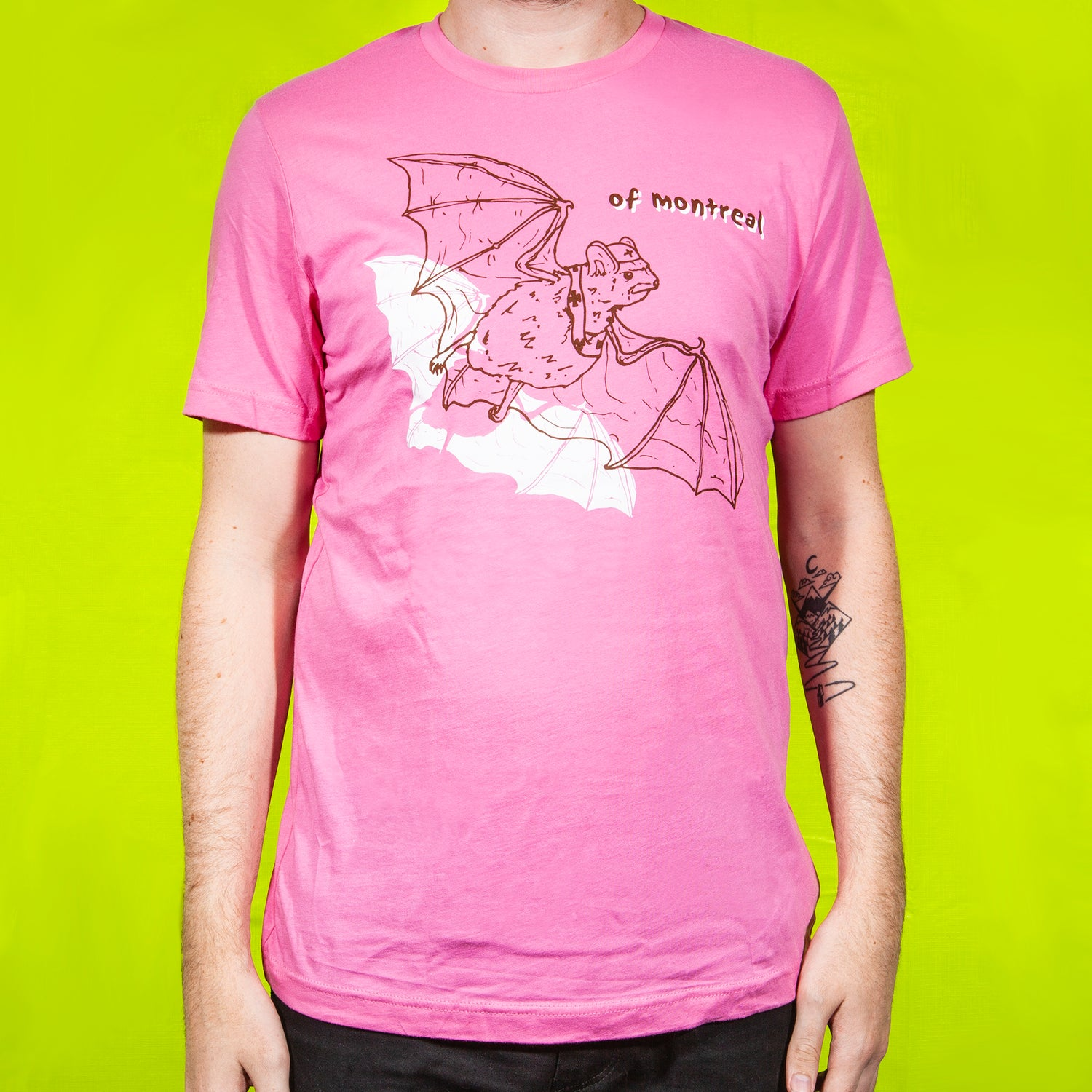 Image of Bats T-Shirt (Pink)
