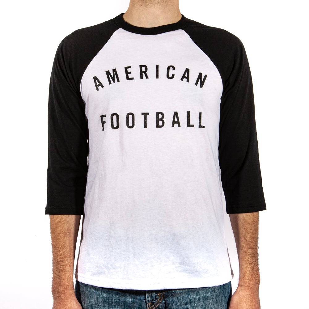 Image of American Football 3/4 Sleeve T-Shirt