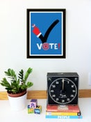 Image of Don't Forget To Vote! Giclee GOTV Poster - NEW!
