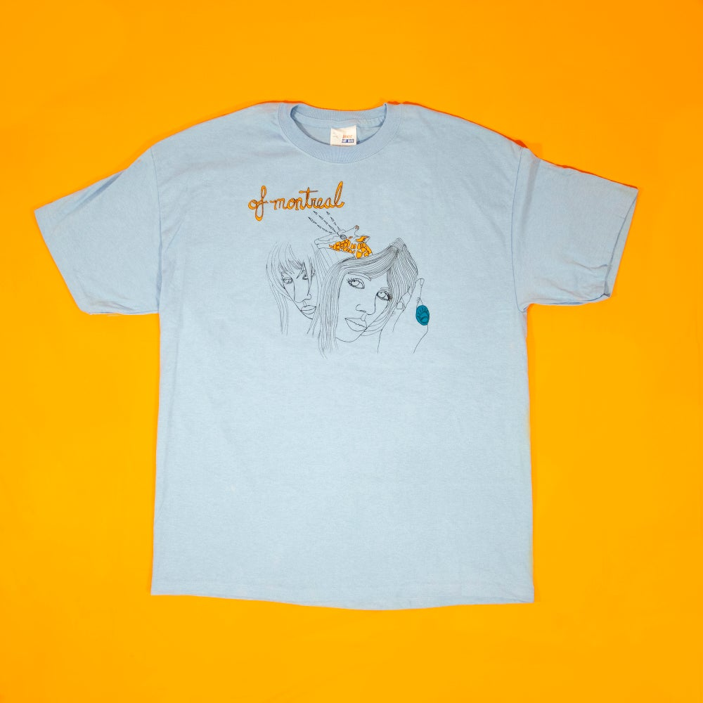 Image of Giraffe T-Shirt (Blue)